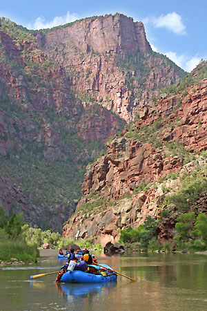 Gates of Lodore Green River Rafting Vacation